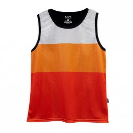 Camiseta Tirante tipo Basket con estampado carta Pantone 3 Tonos